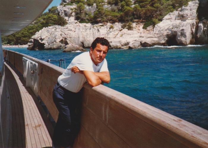 Chef Paolo sullo yacht
