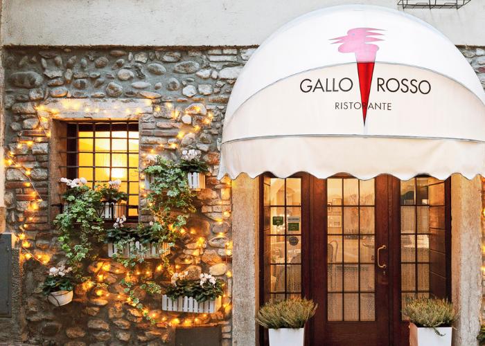 Gallo Rosso nei top 5 ristoranti Salò